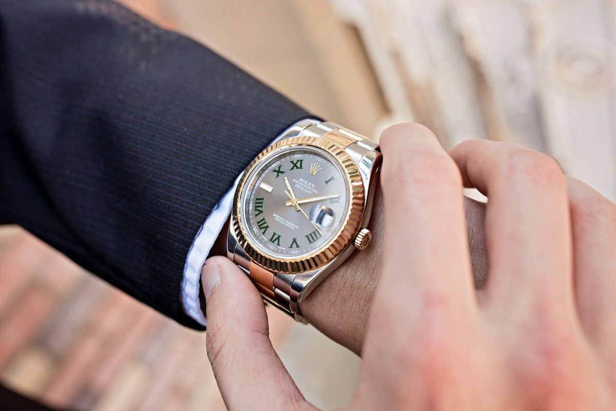 What Rolex Datejust watches are worn by celebrities