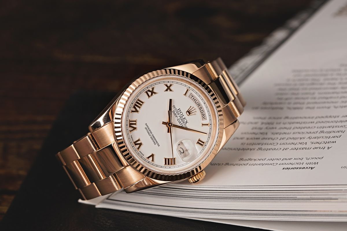 What to Watch out for When There's a Used Rolex for Sale DayDate 36