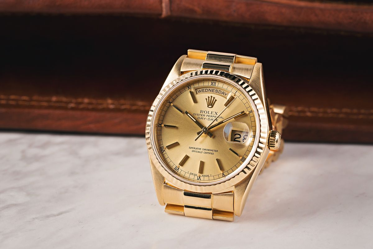 Rolex President 18238 Day-Date Presidential Yellow Gold