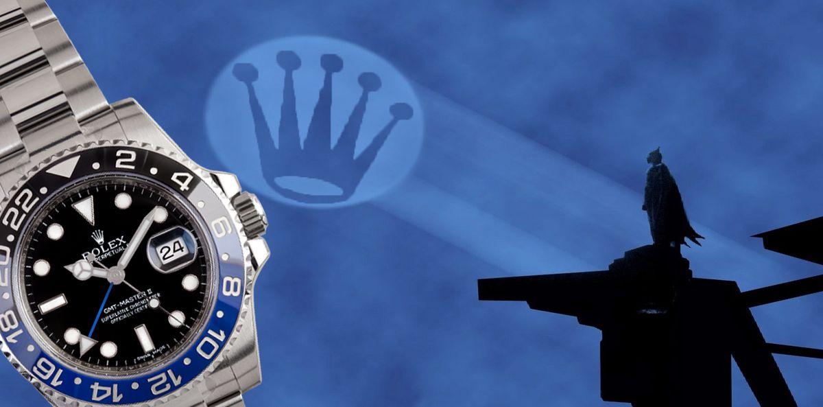 History of Rolex Batman GMT-Master II