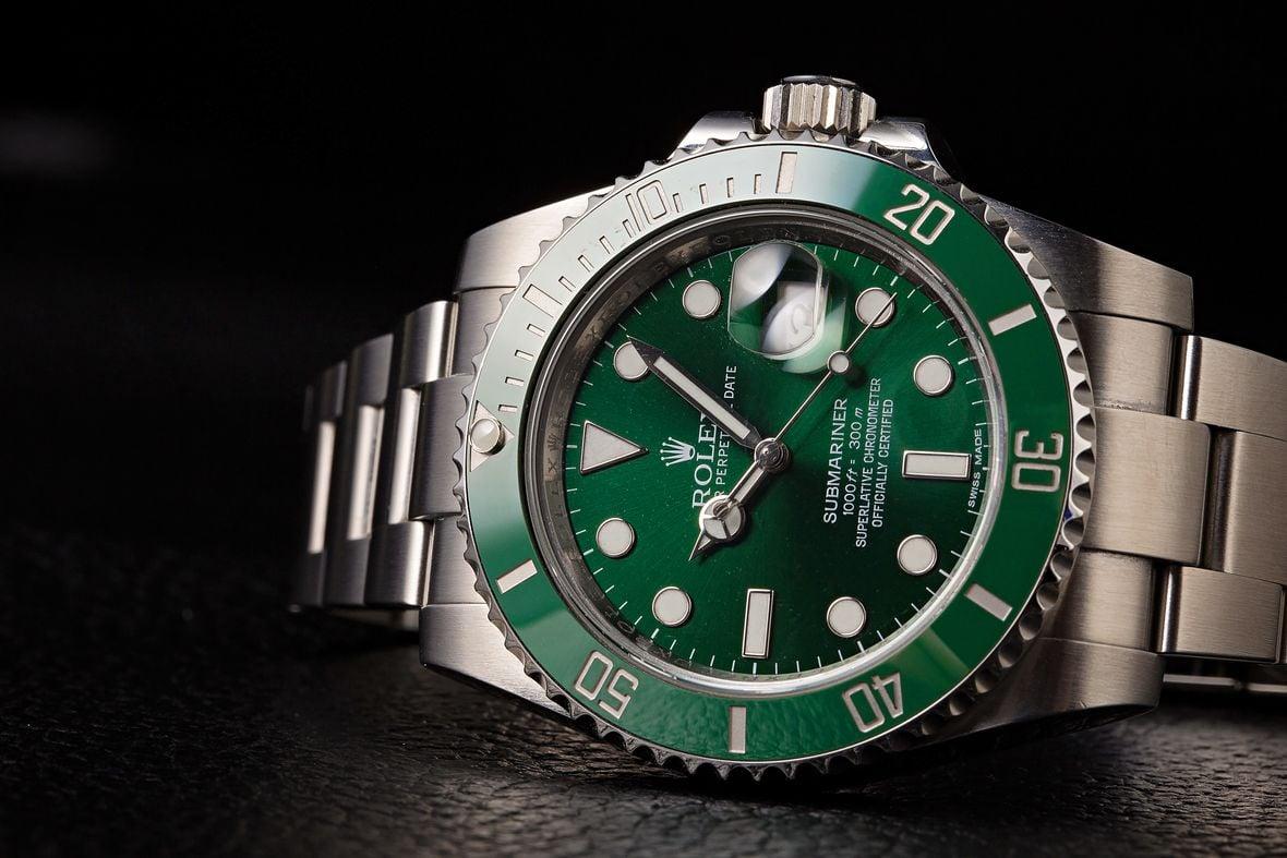 Rolex Green Submariner Hulk 116610LV Stainless Steel