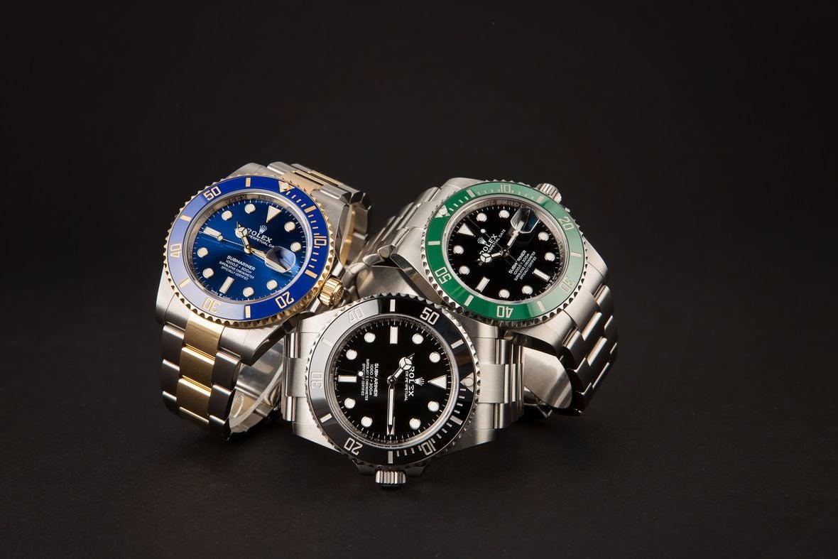 Rolex Submariner Dive Watches 41mm