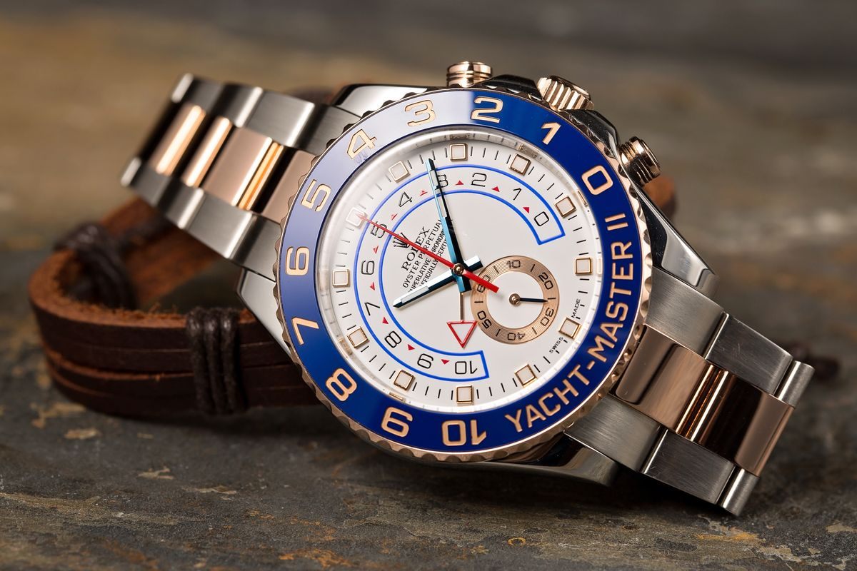No Baselworld But Will There Still Be New Rolex Watches? Yacht-Master II Two-Tone