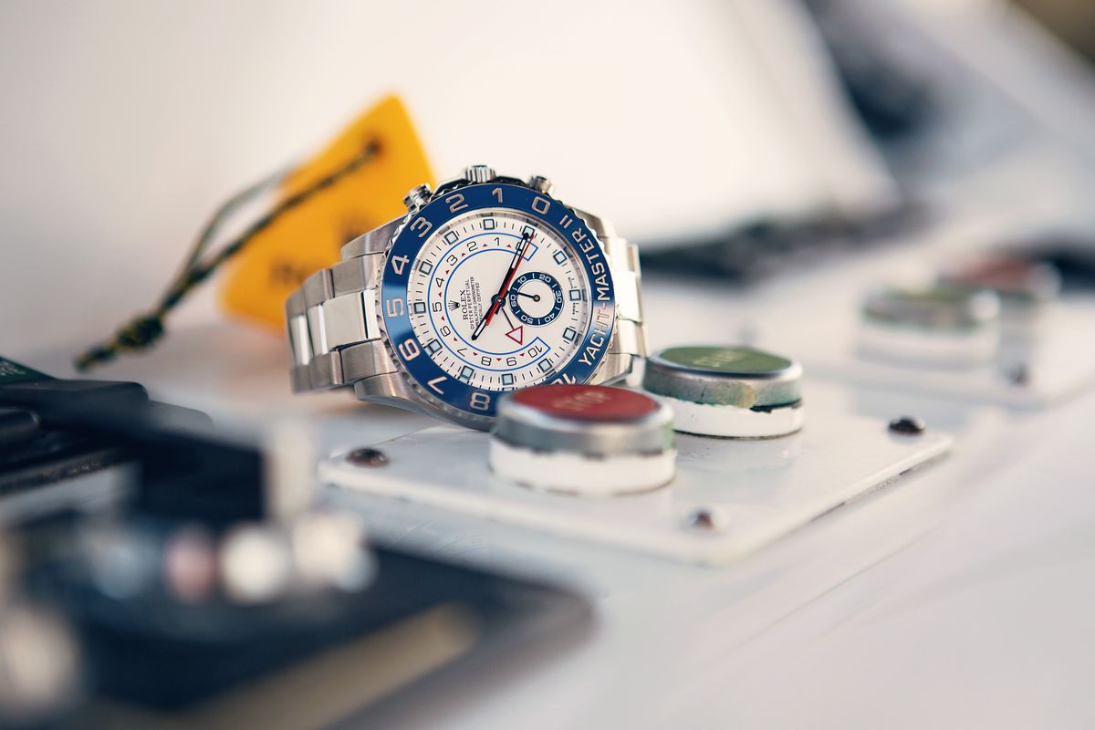 3 of Our Favorite Rolex Yacht-Master Bezels 116680 Blue Cerachrom