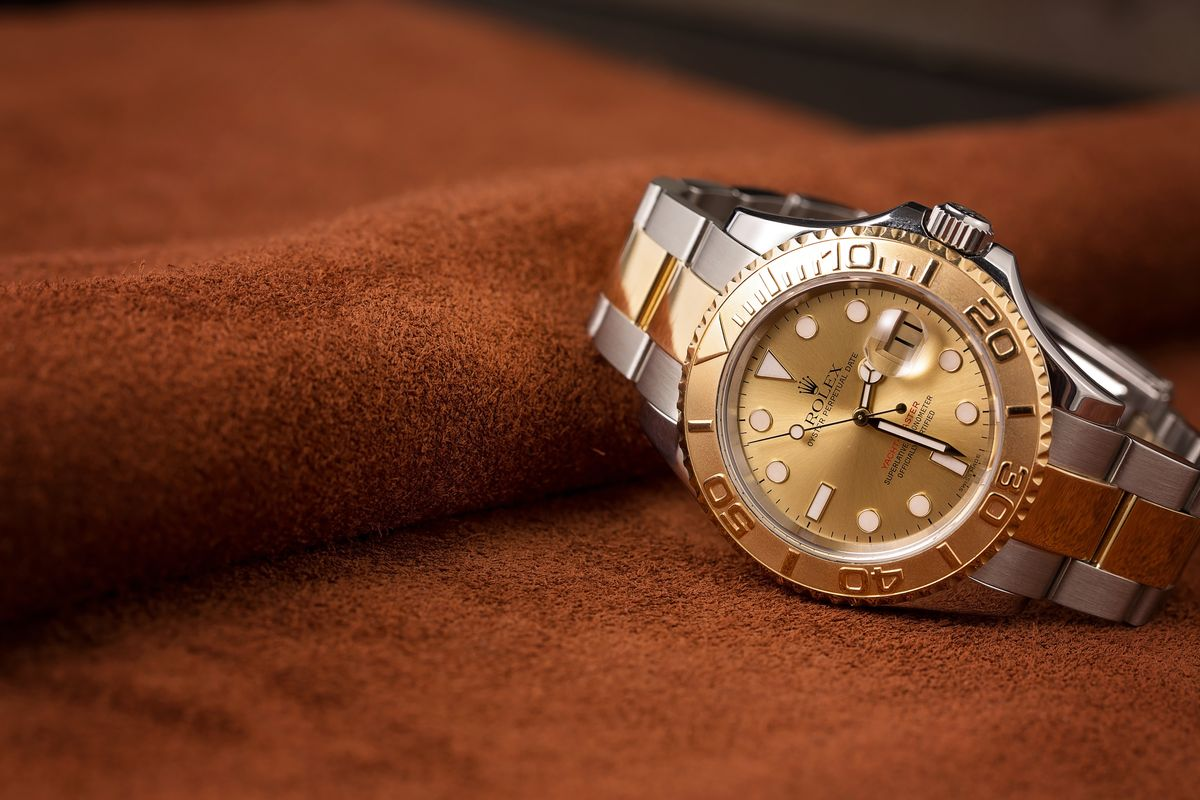 Top 3 Rolex Yacht-Master Bezel Two-Tone 16623 18k gold