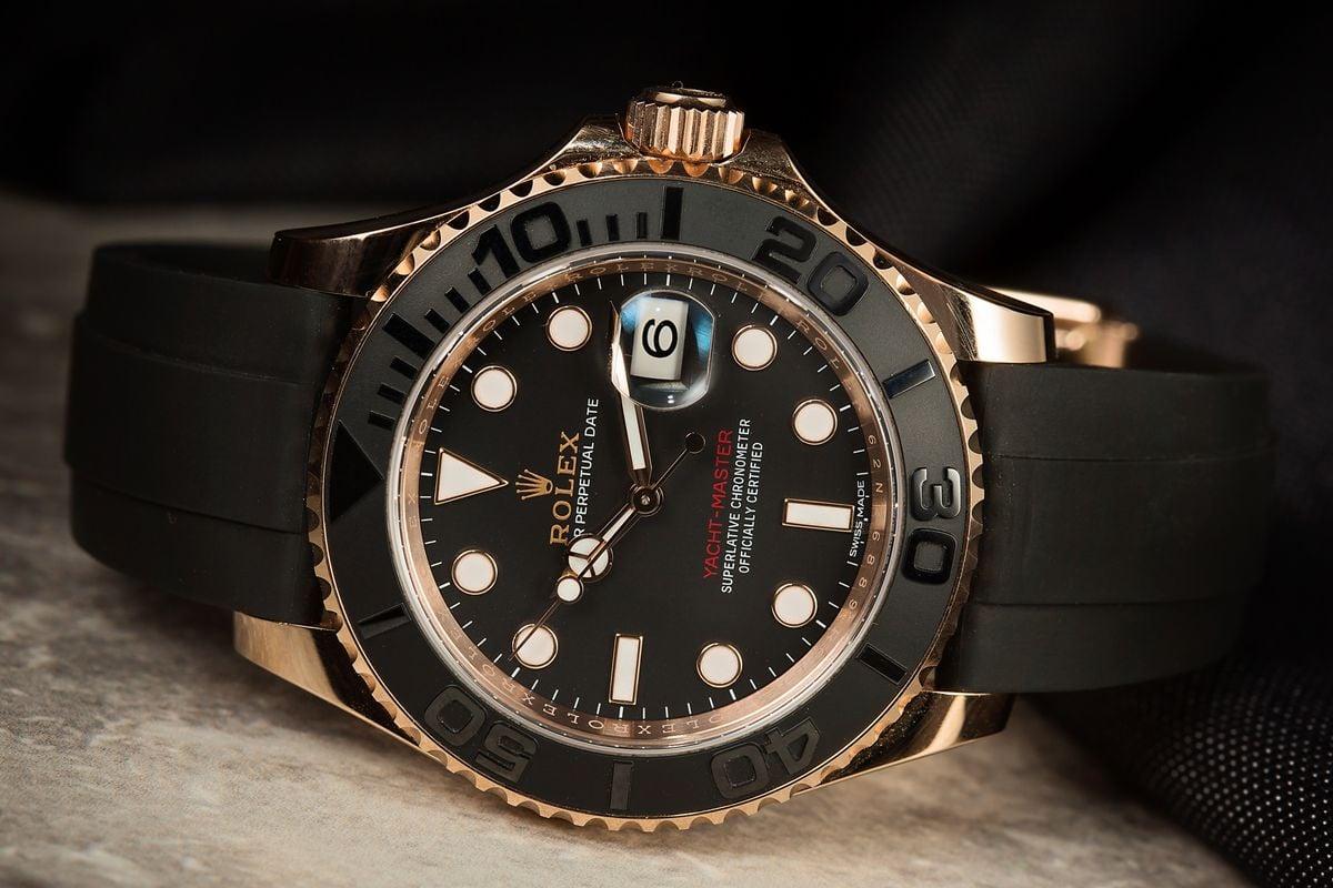 3 Favorite Rolex Yacht-Master Bezel Everose Oysterflex 116655