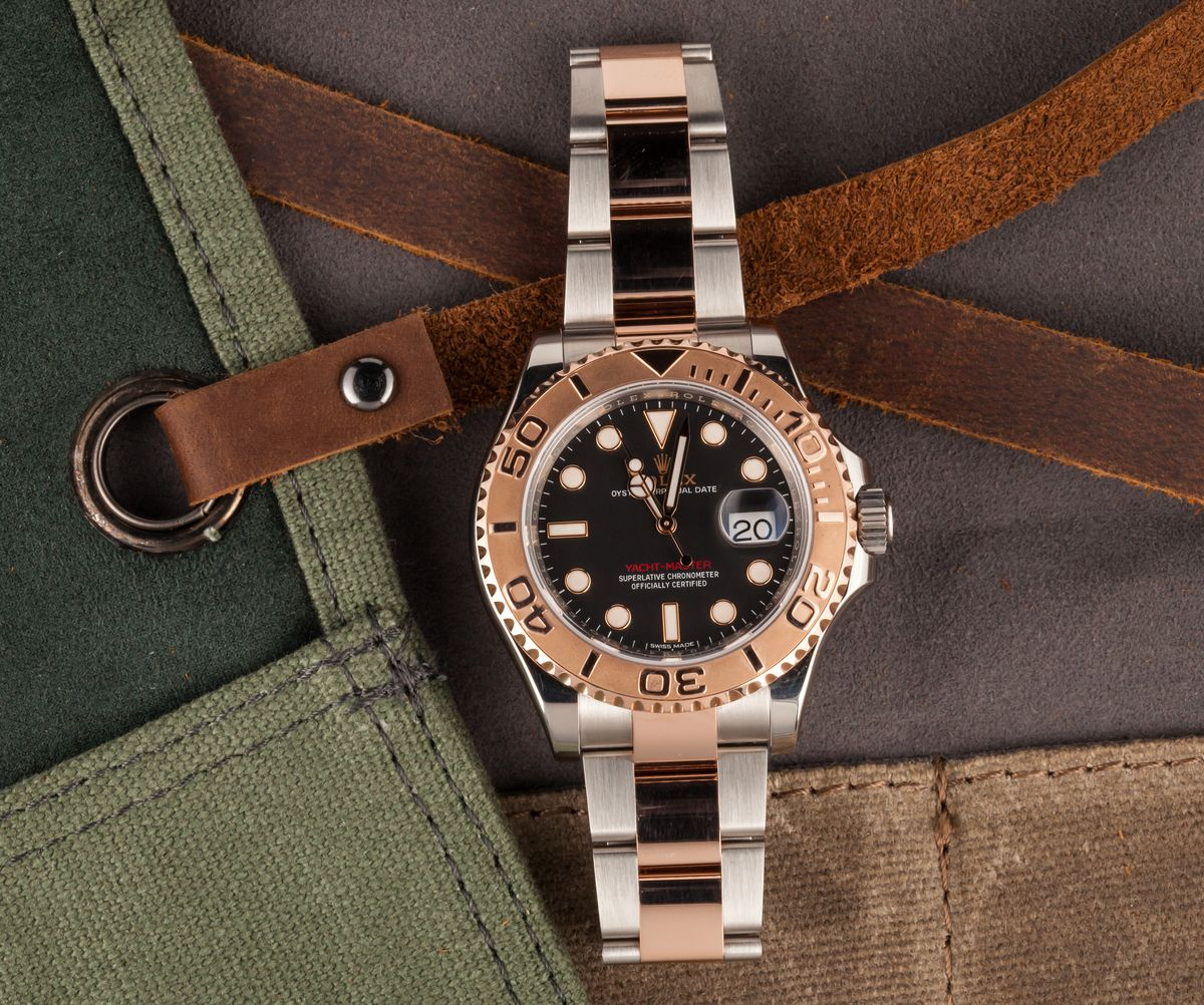 Rolex Yacht-Master Two-Tone 116621 Review Everose