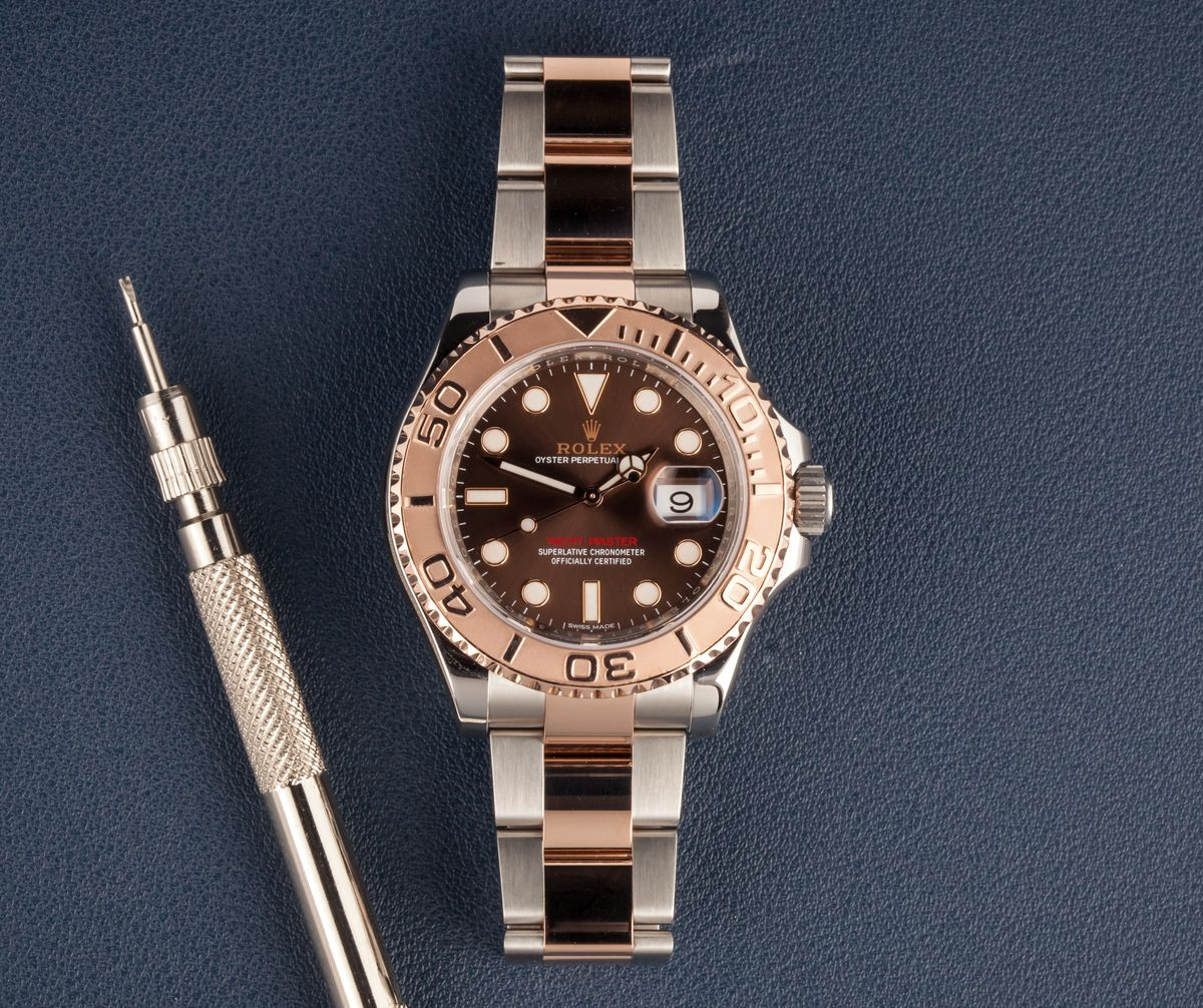 Everose Rolex Yacht-Master Two-Tone 116621 Review