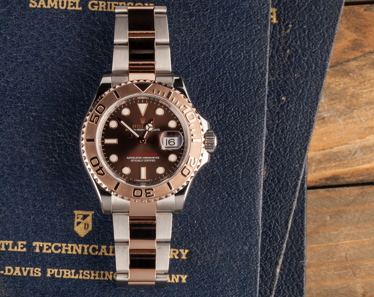 Everose Two-tone Rolex Yacht-Master 116621 Review