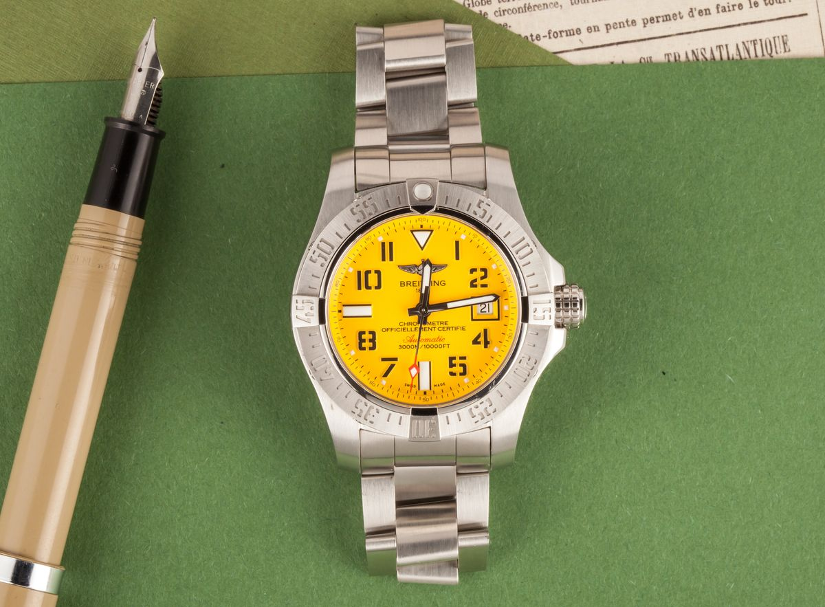 What are the most popular Breitling watches
