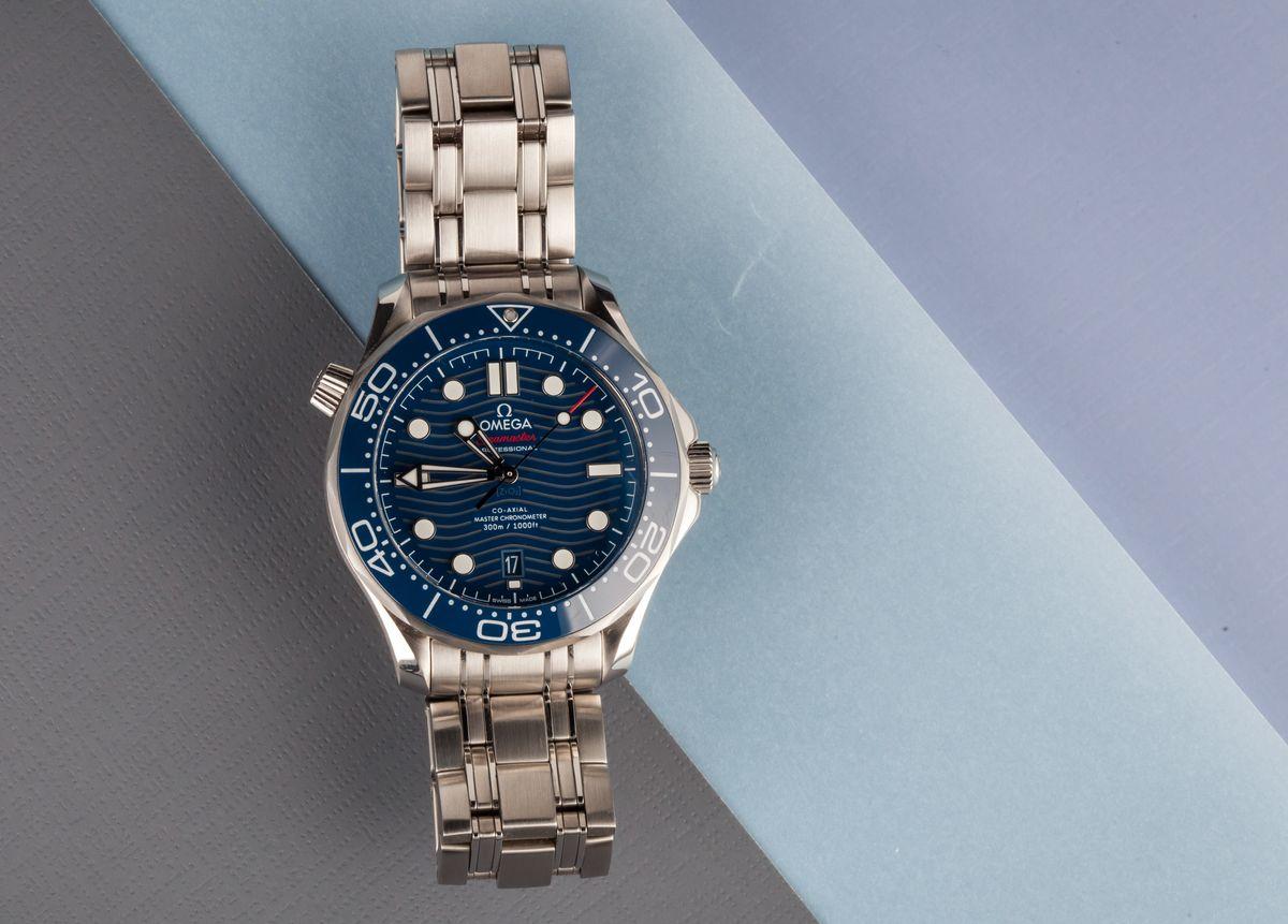 Omega Seamaster Diver 300M James Bond 007 New Model
