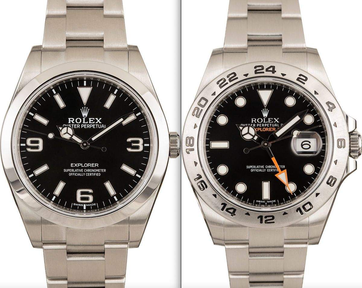 Rolex Explorer vs Explorer II - What's the Difference?