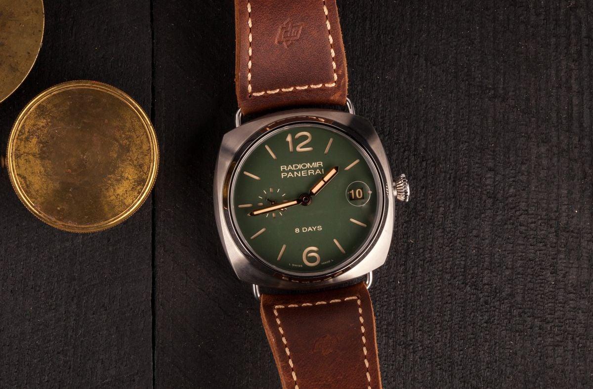 Biggest Panerai Watches for sale used Radiomir 8-Days Titanio PAM735