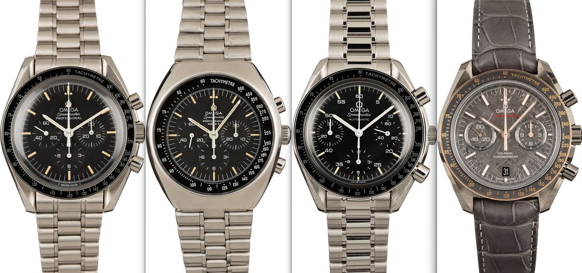 Omega Speedmaster Official Style Guide
