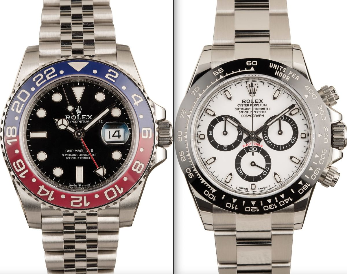 Rolex GMT-Master II compare Ceramic Daytona Guide