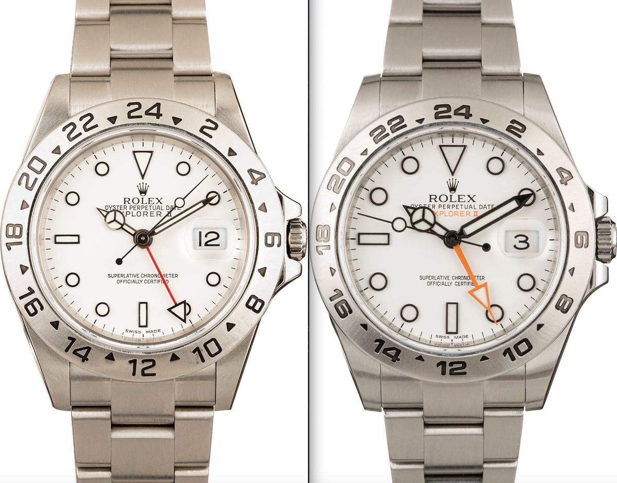 Rolex Explorer II 16570 vs 216570 Polar Dial