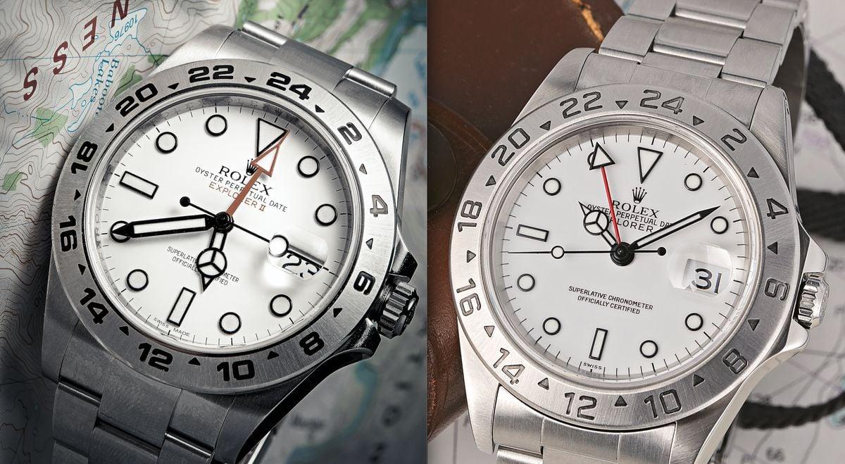 Rolex Explorer II 16570 vs 216570