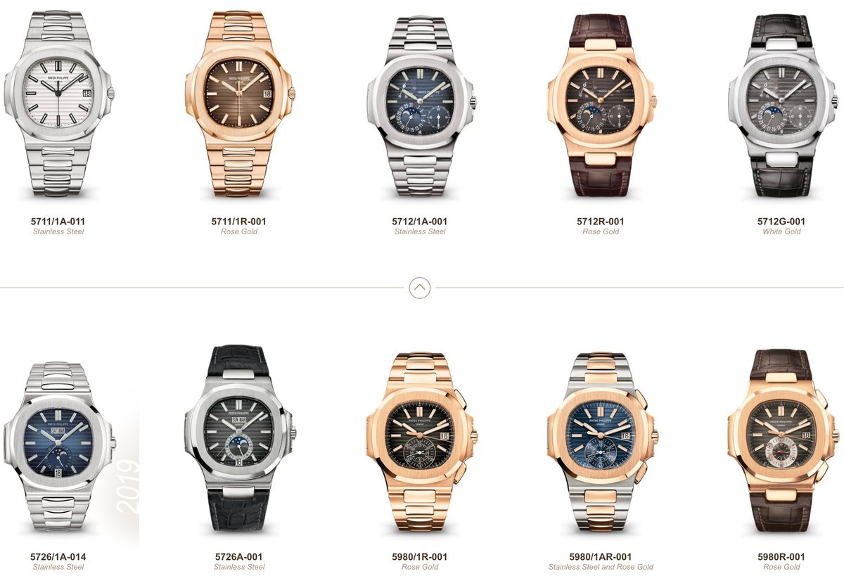 Guide to Modern Patek Philippe Nautilus Watches