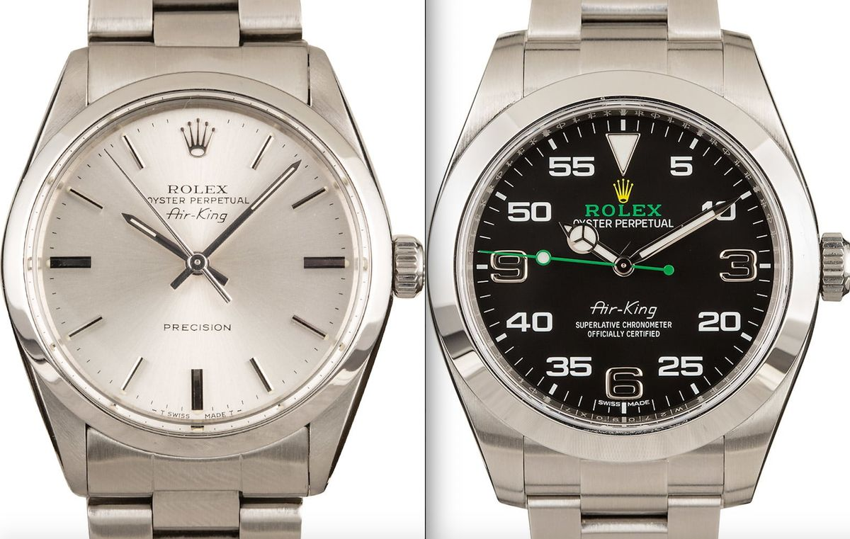 Rolex Air-King 40mm vs 34mm Comparison Guide