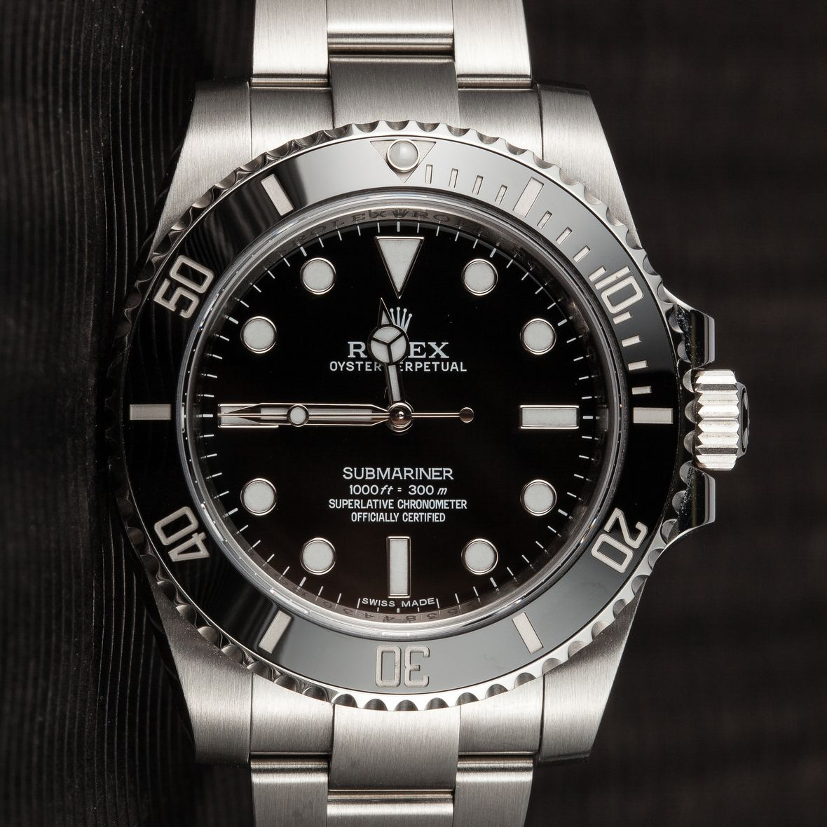 Rolex Submariner 114060 No-Date