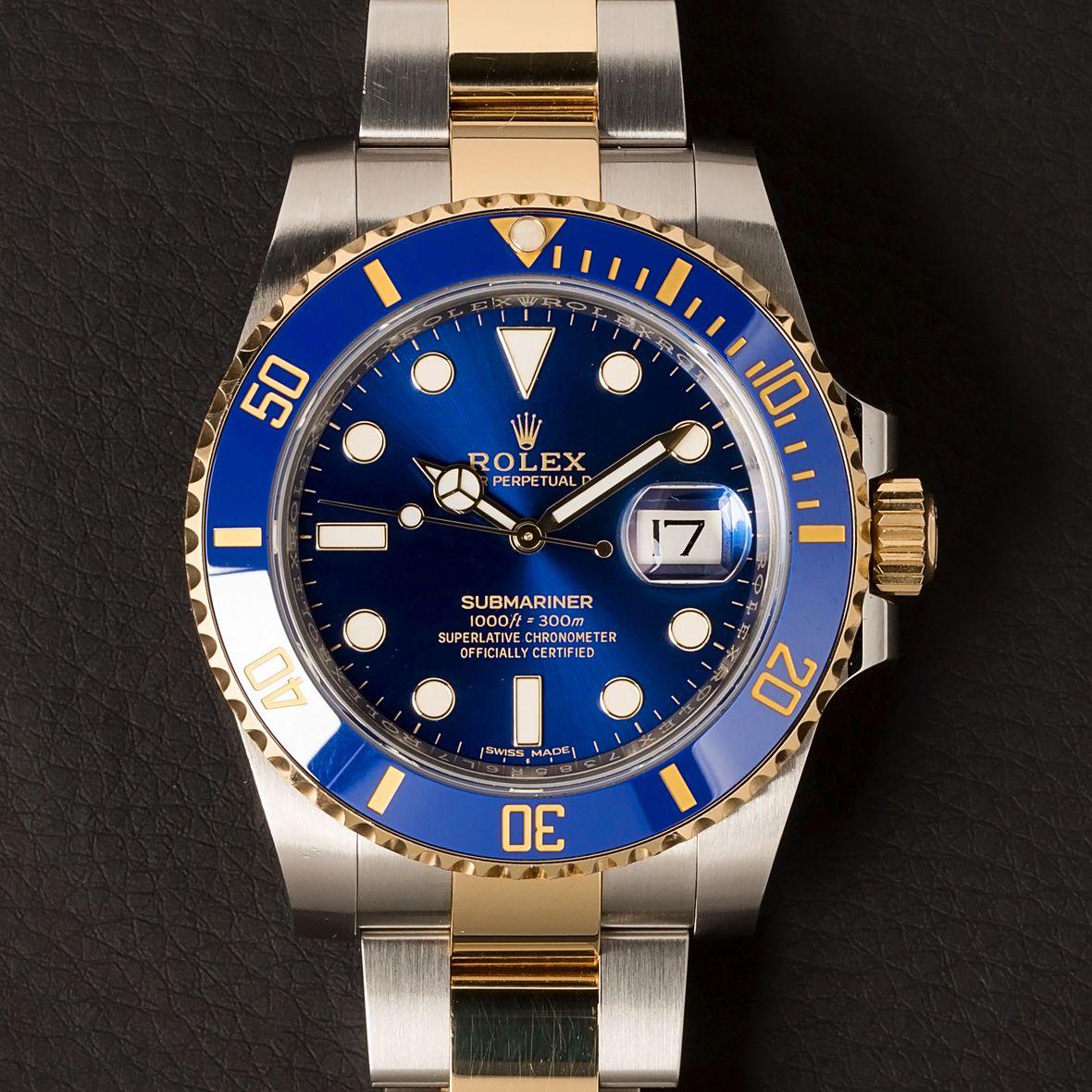Rolex Submariner Date 116613LB Two-Tone