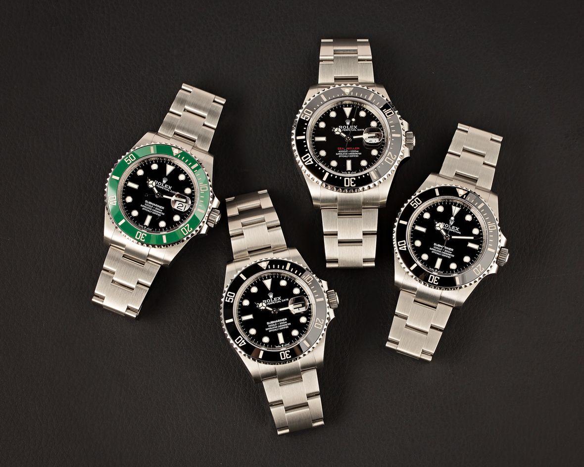 Rolex Dive Watches
