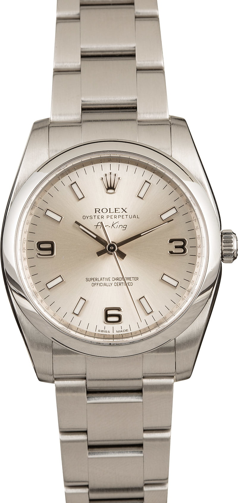 Rolex Air-King 34 vs 40 Comparison Guide 114200