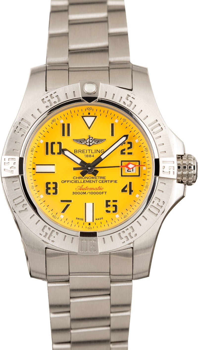 Most Popular Breitling Watches 2020 Avenger II Seawolf
