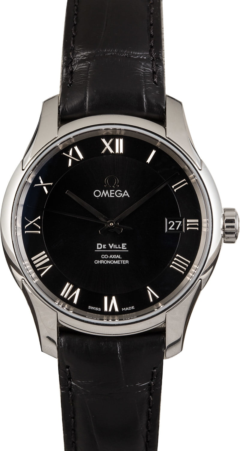 3 Omega Watches Best Collection DeVille Co-Axial dress watch