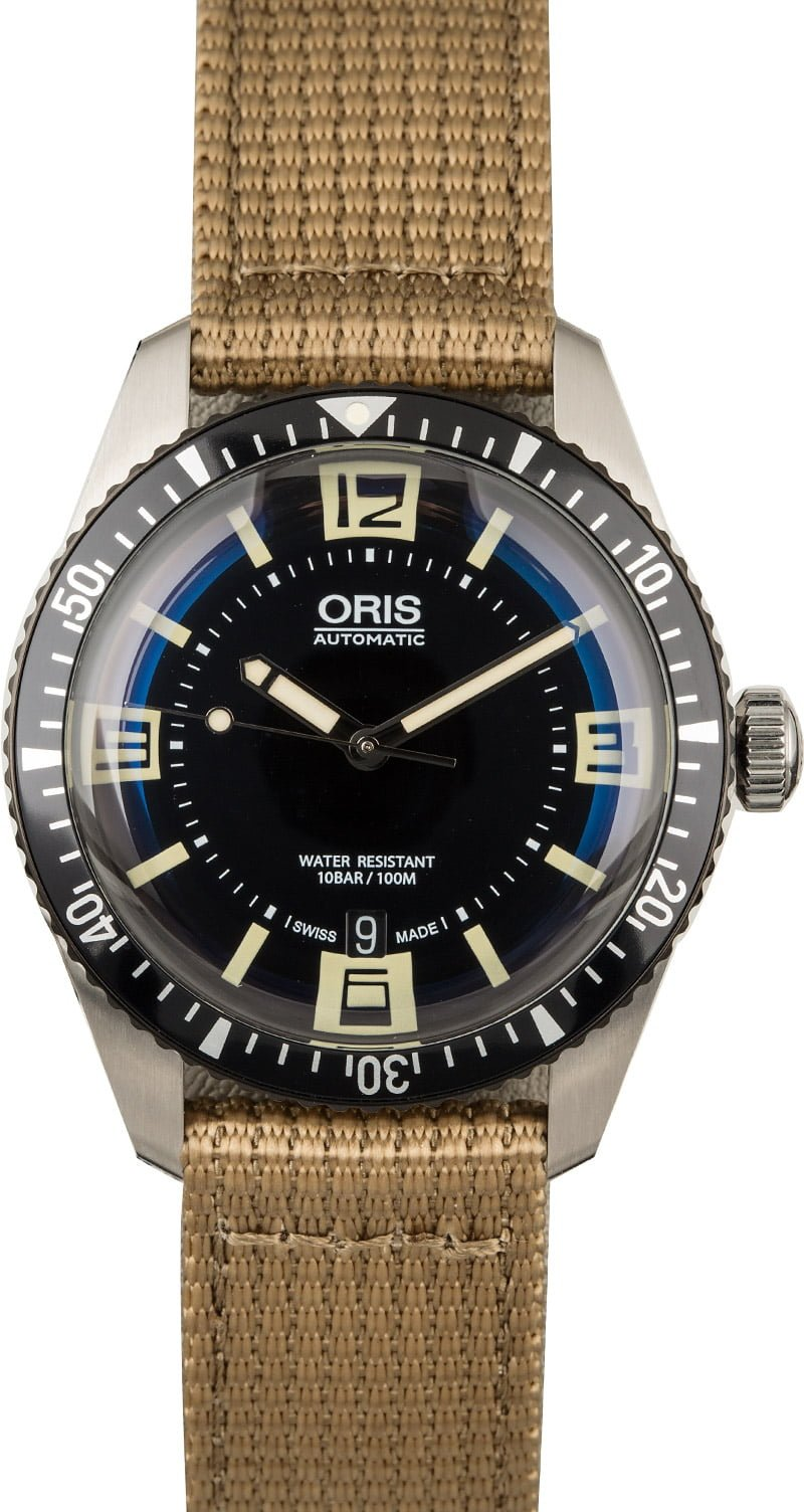 Best Oris Dive Watches For the Watch Snob Divers Sixty-Five 40mm