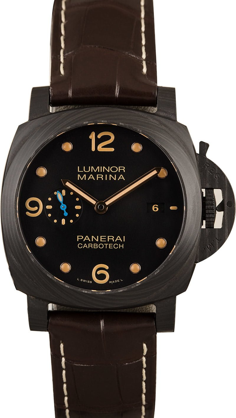 Largest Panerai Watches For Sale Used Luminor 1950 Carbotech PAM661