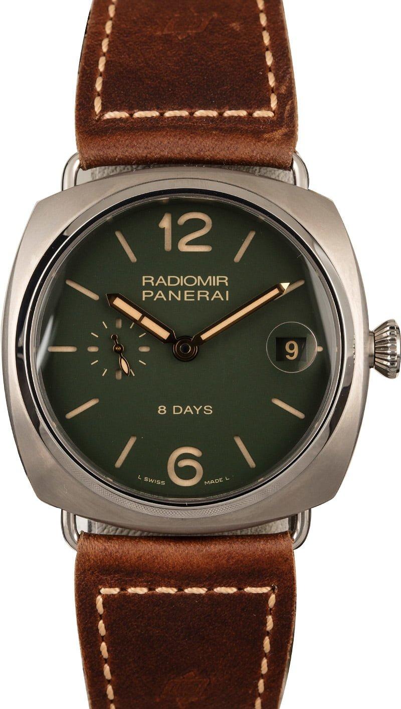 Biggest Panerai Watches For Sale Radiomir 8-Days Titanio PAM735
