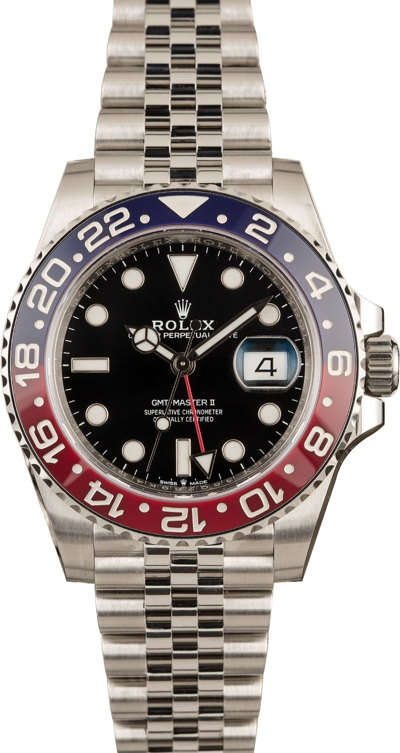 Top 5 Rolex watches for men comparison shopping guide Pepsi GMT-Master 126710 BLRO Jubilee
