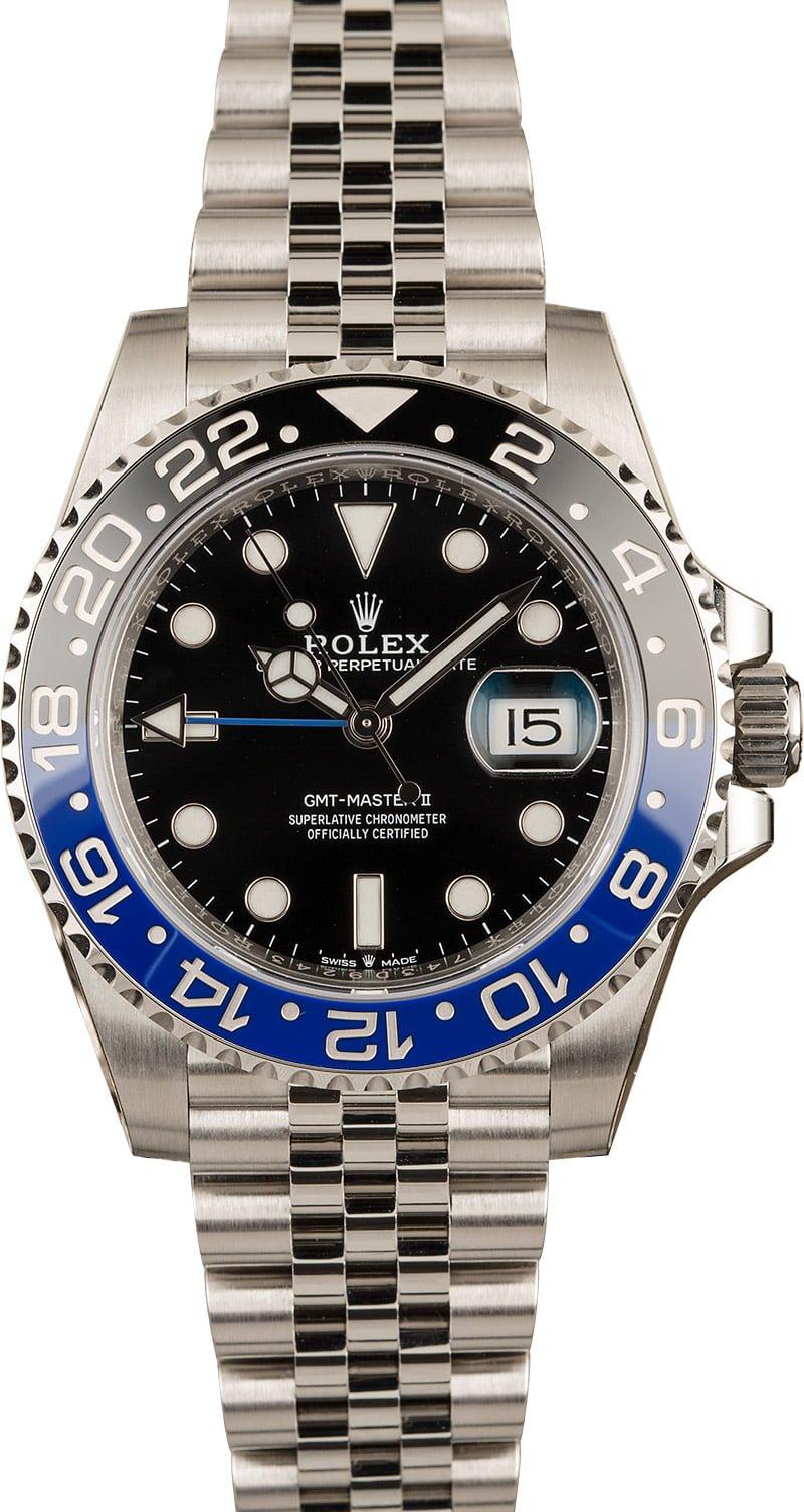 Rolex Batman Bezel GMT-Master History 126710 BLNR Jubilee