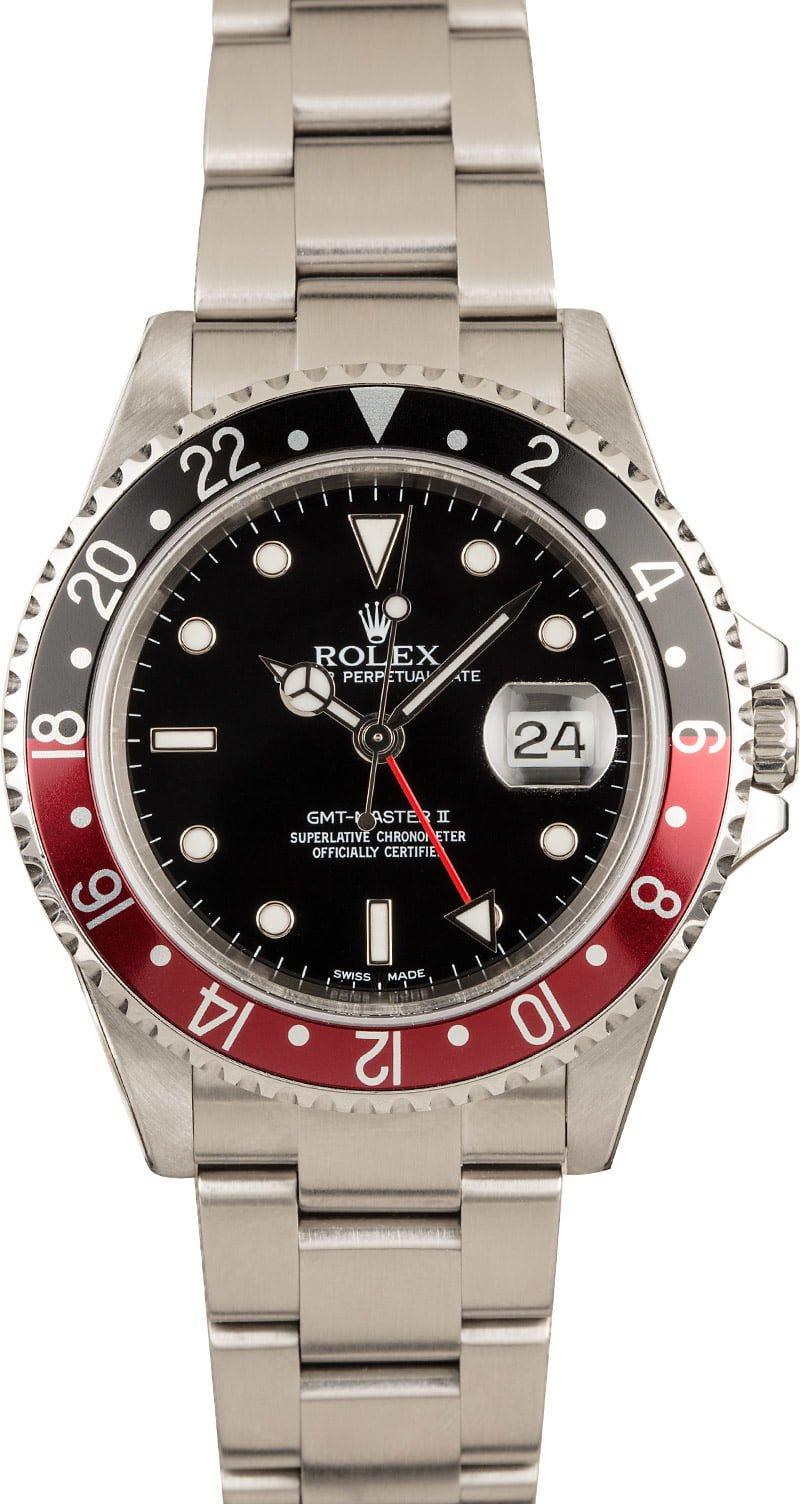 Rolex Batman vs Rolex Coke GMT-Master II Compare Guide 126710 BLNR 16710