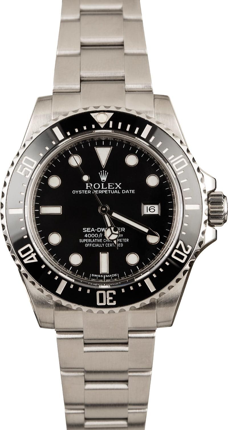 Rolex Watches for Women scuba diving Steel Sea-Dweller 116600