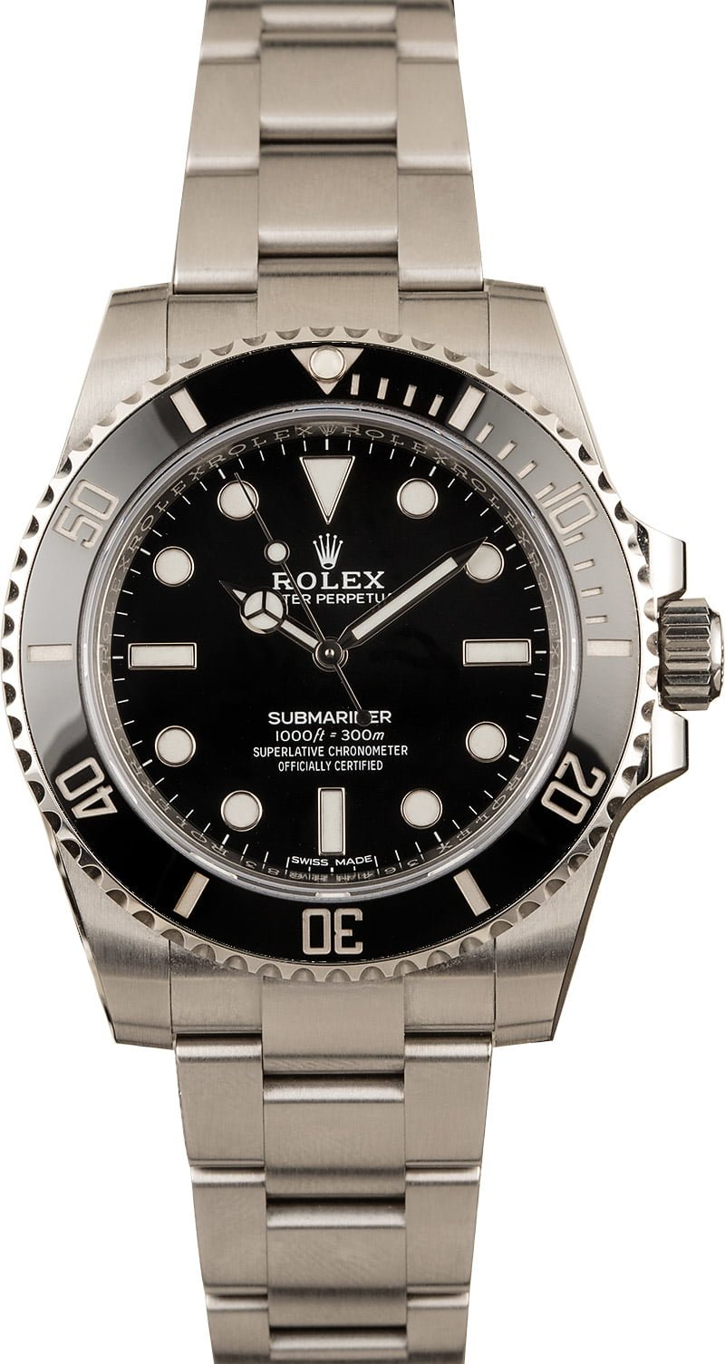 5 Best Rolex watches for men buying guide no-date Submariner 114060