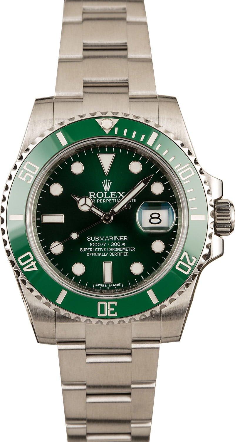 Rolex Hulk Spring Fashion 2020 Buying Guide Green Submariner 116610 LV