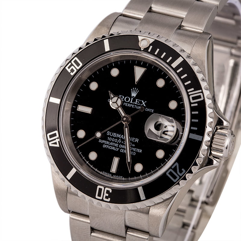 3 Undervalued Used Rolex Watches in 2020 Submariner 16610