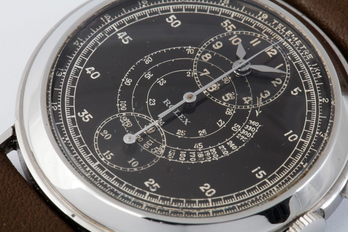 A Few of the Most Unique Rolex Watches of All Time Regulator Chronograph 2737
