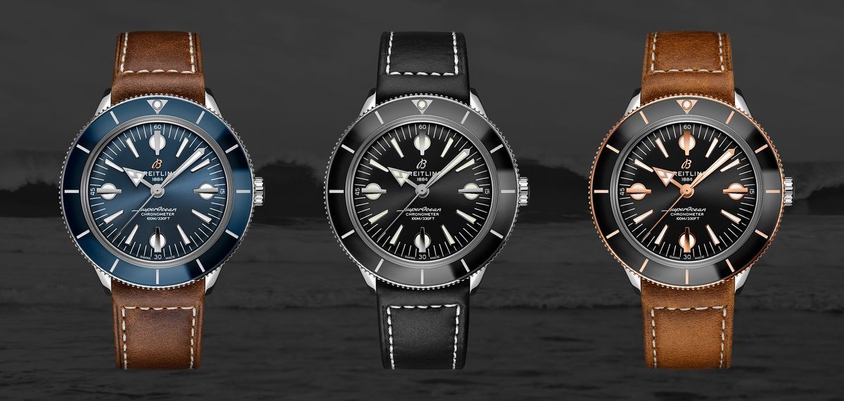 New Breitling Chronomat and Superocean Watch Release 2020 57 Heritage