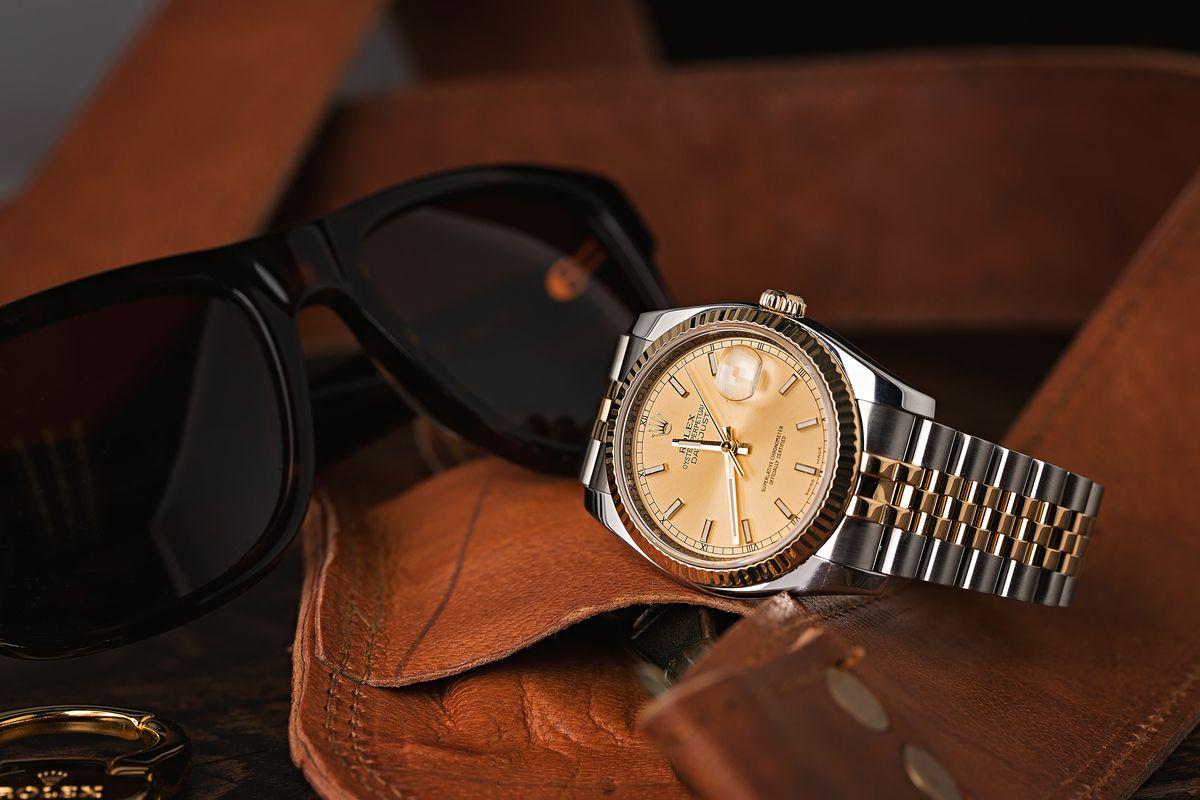 Rolex Datejust 36 Ultimate Luxury Dress Watch Two-Tone Rolesor 116233