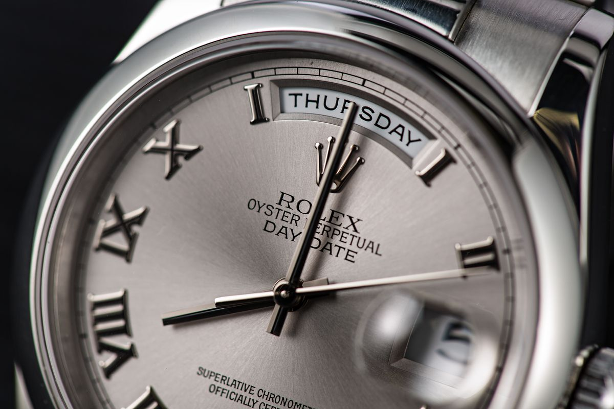Rolex Oyster Perpetual Day-Date Presidential Definition and Nicknames
