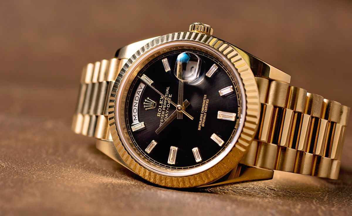 Rolex Presidential Most Famous Gold Watch Diamond Dial