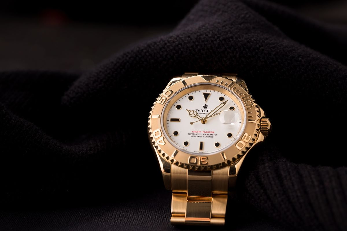 The Most Unusual Rolex Yacht-Master gold Dial 16628