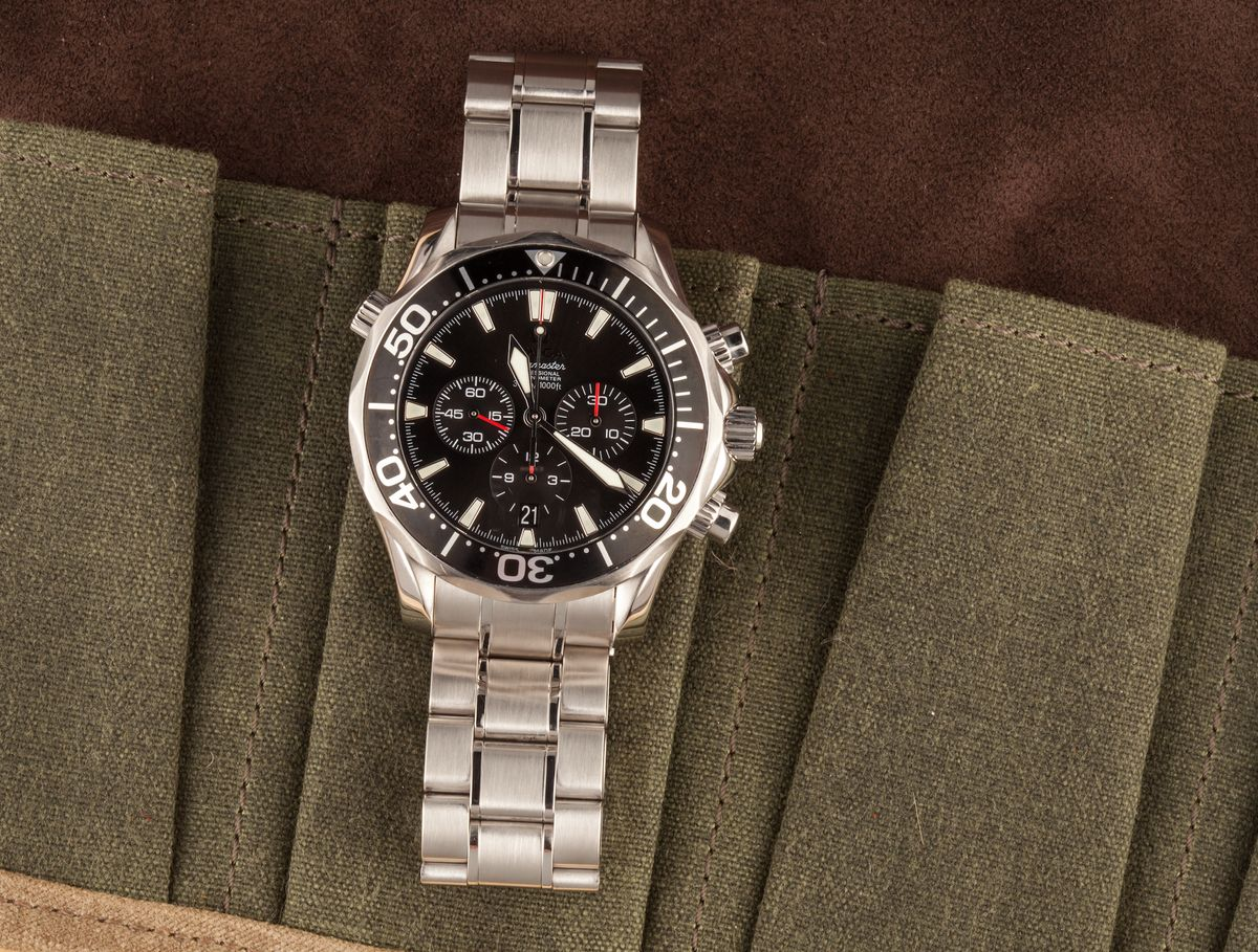 Not James Bond Omega Seamaster Watches for Collectors Diver Chronograph America's Cup Edition