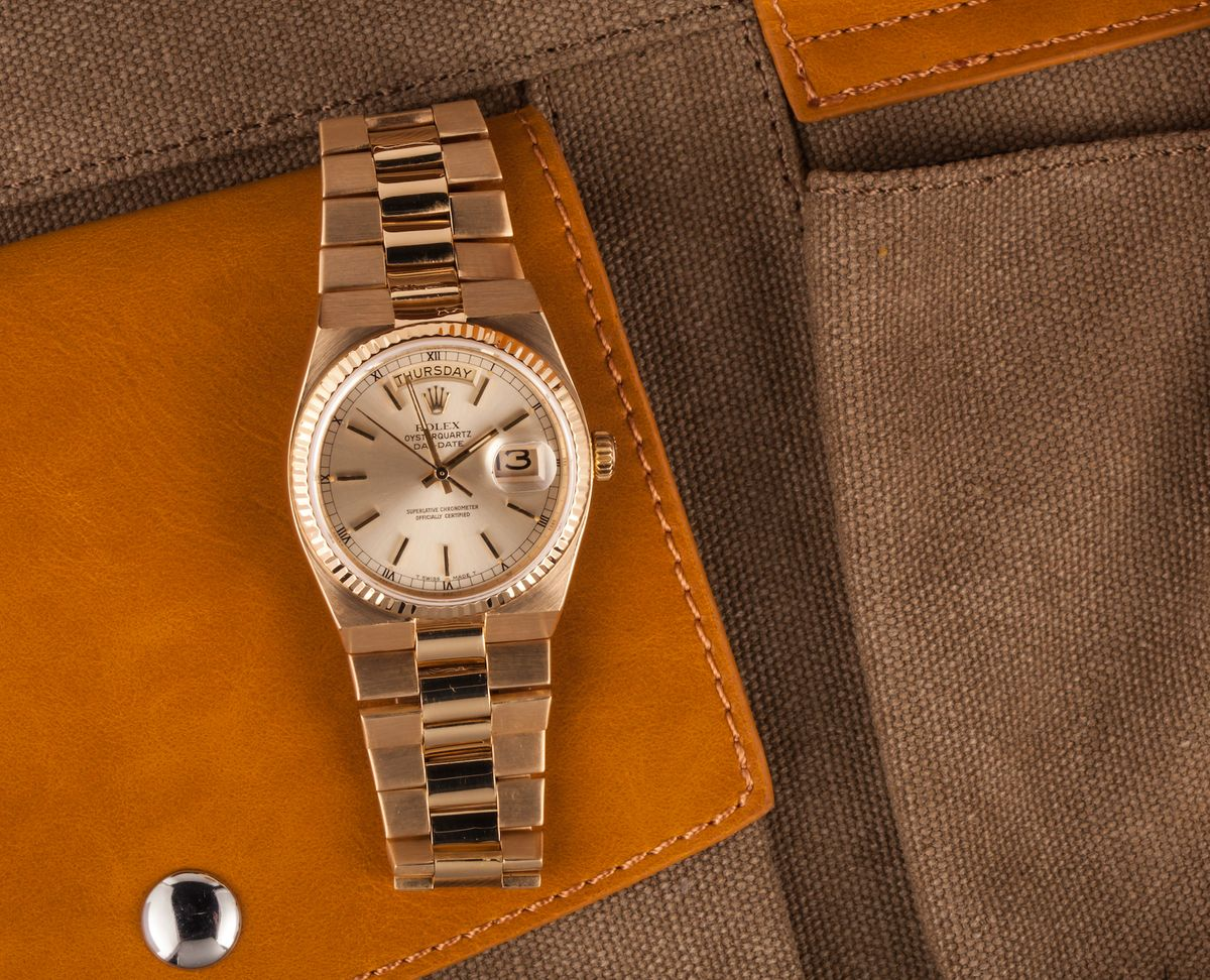 Official Rolex Day-Date Oysterquartz Collectors Guide