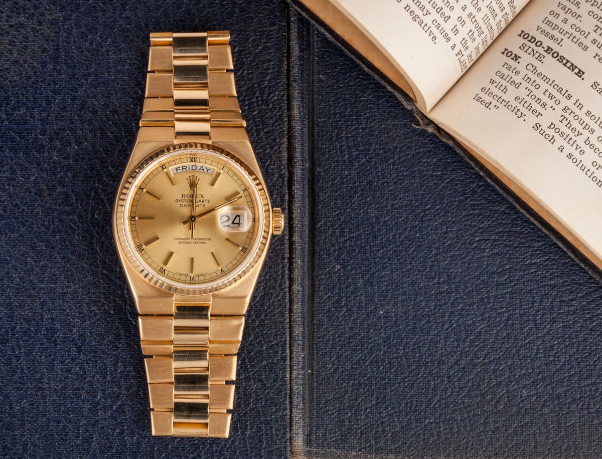 Official Rolex Day-Date Oysterquartz Buyers and Collectors Guide