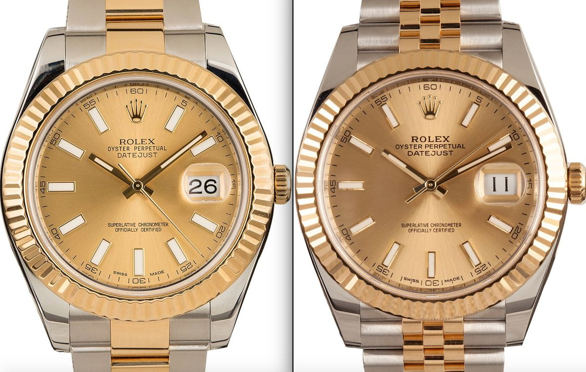 Official Rolex Datejust 41 vs Datejust II Comparison