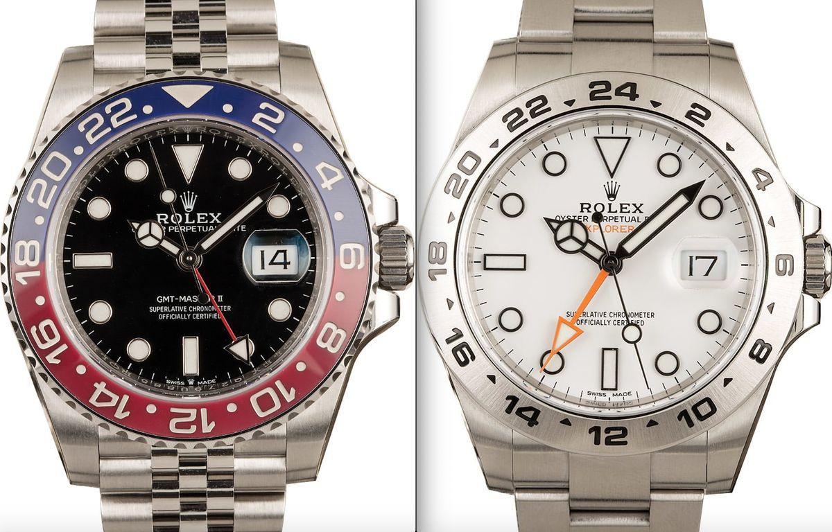 Rolex Watch Comparison GMT-Master or Explorer